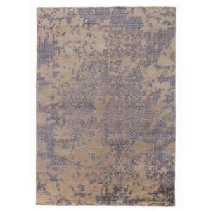 Musterring Orientteppich 70/140 cm blau, creme , Soho Aurora , Textil , Uni , 70x140 cm , in verschiedenen Größen erhältlich , 005893005253