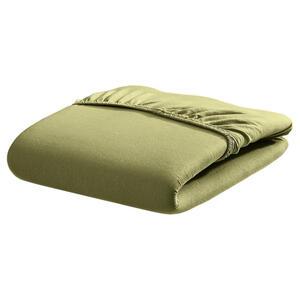 Bassetti Spannbetttuch olivgrün , 9302334 Z1/664 , Textil , 100x220 cm , 005639070804