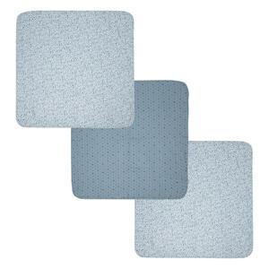 Bebe Jou Mullwindeln , 3051057 , Blau, Schwarz, Dunkelblau , Textil , Punkte , 70x70 cm , saugfähig , 008296010517