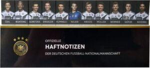 Haftnotizen DFB-Kollektion 2018 schwarz
