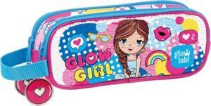 Schlampermäppchen glowlab Kids Glow Girl Sequins mehrfarbig Mädchen Kinder