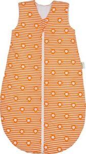 Basic Schlafsack, wattiert, stripes and stars orange, 90