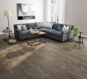 TrendLine Vinylboden Living brown ,  Fliesenformat