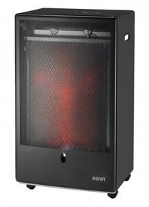 Rowi Gas-Heizofen 3400 W Pro ,  HGO 3400/2, schwarz