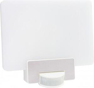 REV LED Außenwandleuchte Hausnummer ,  12 W, Bewegungsmelder, Hintergrundbeleuchtung, weiß