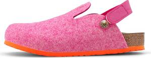 Birkenstock, Pantolette Zimba in rosa, Hausschuhe für Mädchen