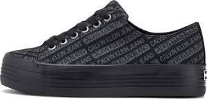 Calvin Klein Jeans, Plateau-Sneaker Zacaria in schwarz, Sneaker für Damen