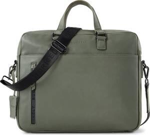 """BURKELY, Business-Tasche Rain Riley Laptopbag 15,6"""" in khaki, Businesstaschen für Herren"""