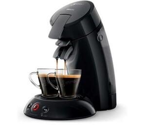 Senseo Kaffeepadmaschine HD6554/22 ,  1-2 Tassen, 0,7 Liter Tank, schwarz