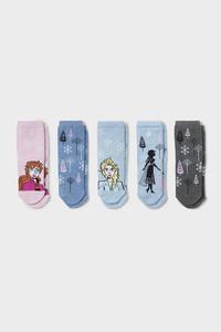 Die Eiskönigin - Socken - 5 Paar - Glanz-Effekt