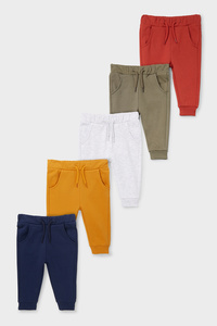 Baby-Jogginghose - 5er Pack