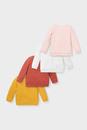 Bild 2 von Baby-Sweatshirt - Bio-Baumwolle - 4er Pack