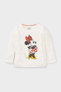 Minnie Maus - Baby-Sweatshirt - Bio-Baumwolle