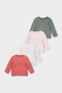 Baby-Sweatshirts - 4er Pack