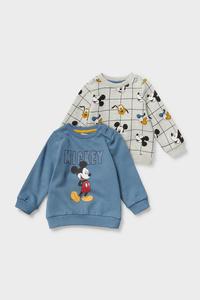 Micky Maus - Baby-Sweatshirt - 2er Pack