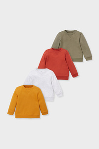 Baby-Sweatshirt - 4er Pack
