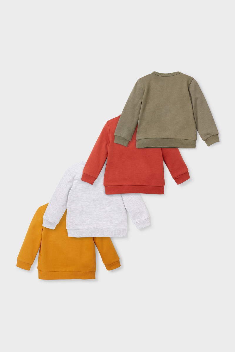 Bild 2 von Baby-Sweatshirt - 4er Pack