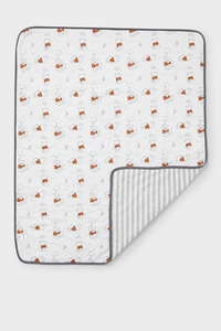 Winnie Puuh - Baby-Decke - gestreift