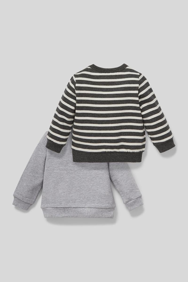 Bild 2 von Baby-Sweatshirt - Bio-Baumwolle - 2er Pack