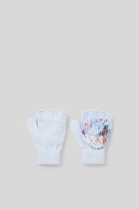 Die Eiskönigin - Handschuhe - Glanz-Effekt