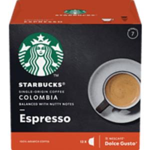 STARBUCKS COLOMBIA BY NESCAFE DOLCE GUSTO Kaffeekapseln
