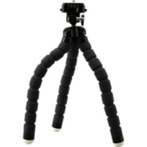 ROLLEI 20797 Monkey Pod Dreibein/Tisch Stativ, Schwarz, Höhe offen bis 250 mm