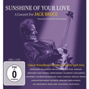VARIOUS - Sunshine Of Your Love-A Concert For Jack Bruce [CD + DVD Video]
