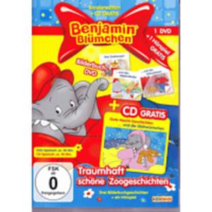 Benjamin Blümchen: Zoogeschichten: Das Zookonzert/Das Nilpfersbaby [DVD + CD]
