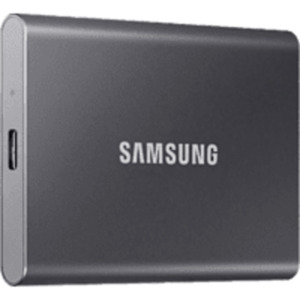 SAMSUNG Portable SSD T7 USB 3.2 1 TB Festplatte in Titan grey