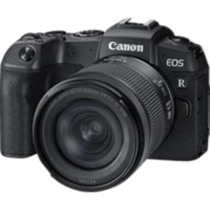 CANON EOS RP Kit Systemkamera mit 24-105 mm Objektiv in Schwarz
