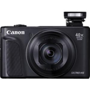 CANON PowerShot SX740 HS Digitalkamera, 20.3 Megapixel in Schwarz