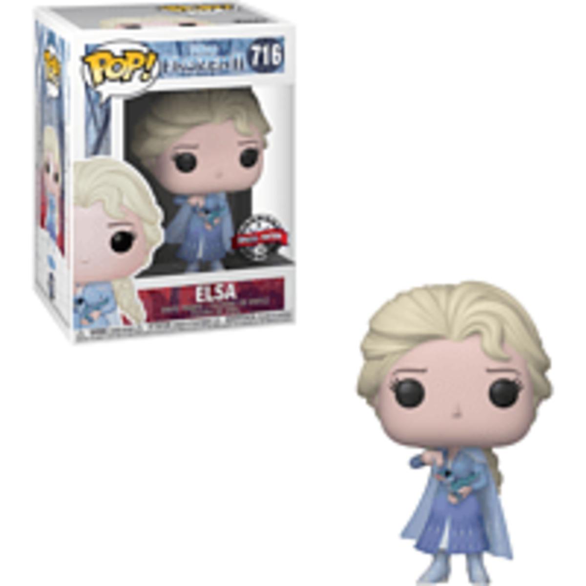 Bild 1 von FUNKO UK POP Disney Frozen: ELSA  Vinyl Figur