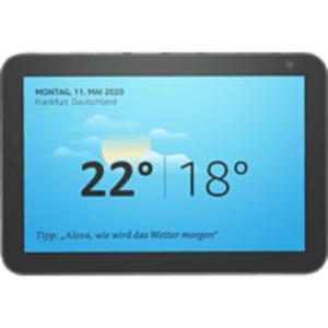AMAZON Echo Show 8 Smart Display mit 8 Zoll großem HD-Bildschirm Smart Speaker in Anthrazit Stoff