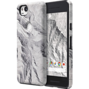 GOOGLE Earth Live Case , Google, Pixel 2, Polycarbonat, Thermoplastisches Polyurethan, Fels