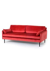 Sofa mit Samtbezug