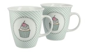 Kaffeebecher Cup Cake, 2er-Set