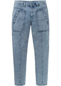 Loose Fit Jeans aus Bio Baumwolle, Tapered