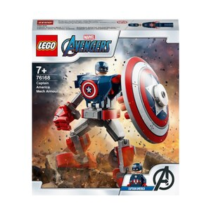 LEGO Marvel Super Heroes 76168 Captain America Mech