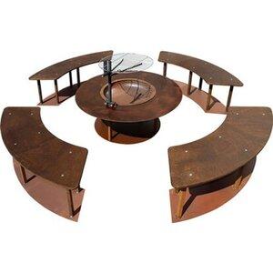 Ferrum Art Design Feuerstelle Circle 1-0532 Rost