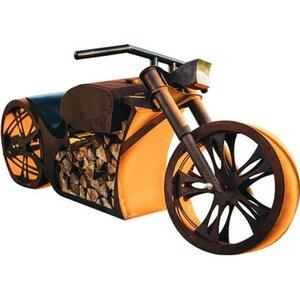 Ferrum Art Design Grillstelle Motorrad Rost