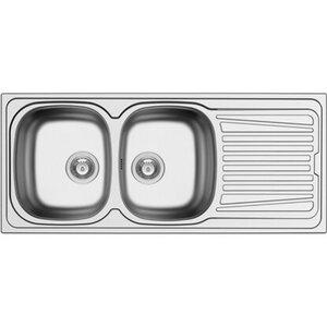 Küchenfreund Einbauspüle ES 516 Edelstahl Glatt