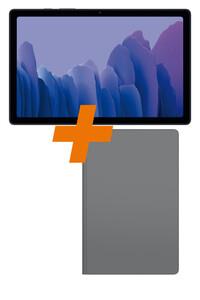 Galaxy Tab A7 Wi-Fi 32GB dark grey + Tablet-Hülle Bundle