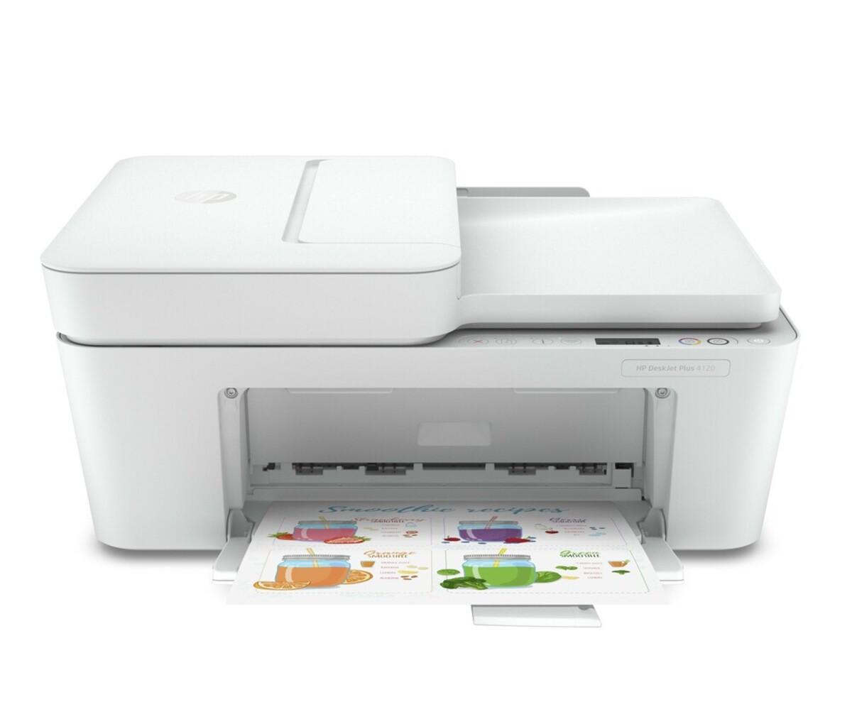 Bild 1 von DeskJet Plus 4120 weiß Multifunktionsdrucker
