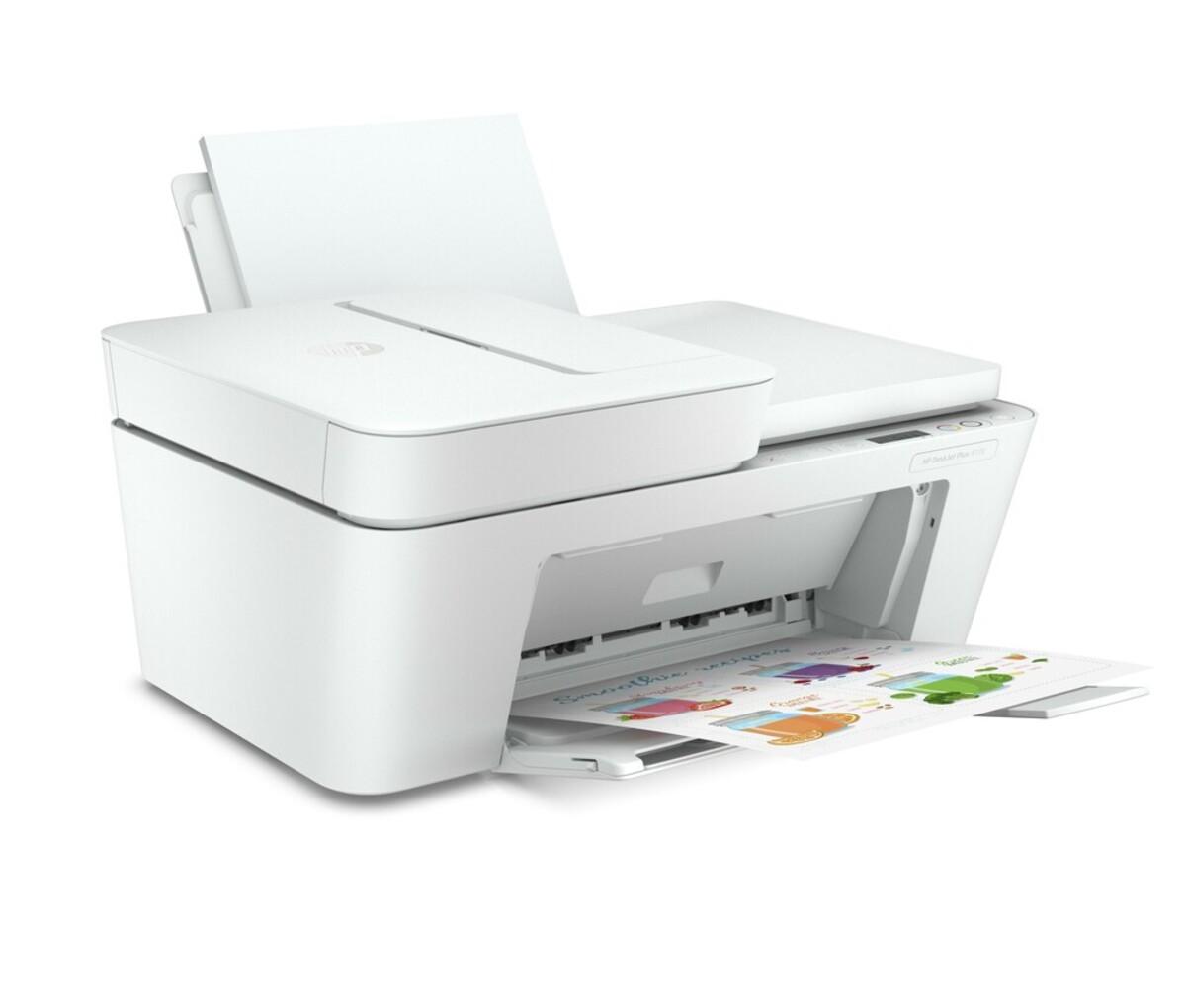 Bild 2 von DeskJet Plus 4120 weiß Multifunktionsdrucker