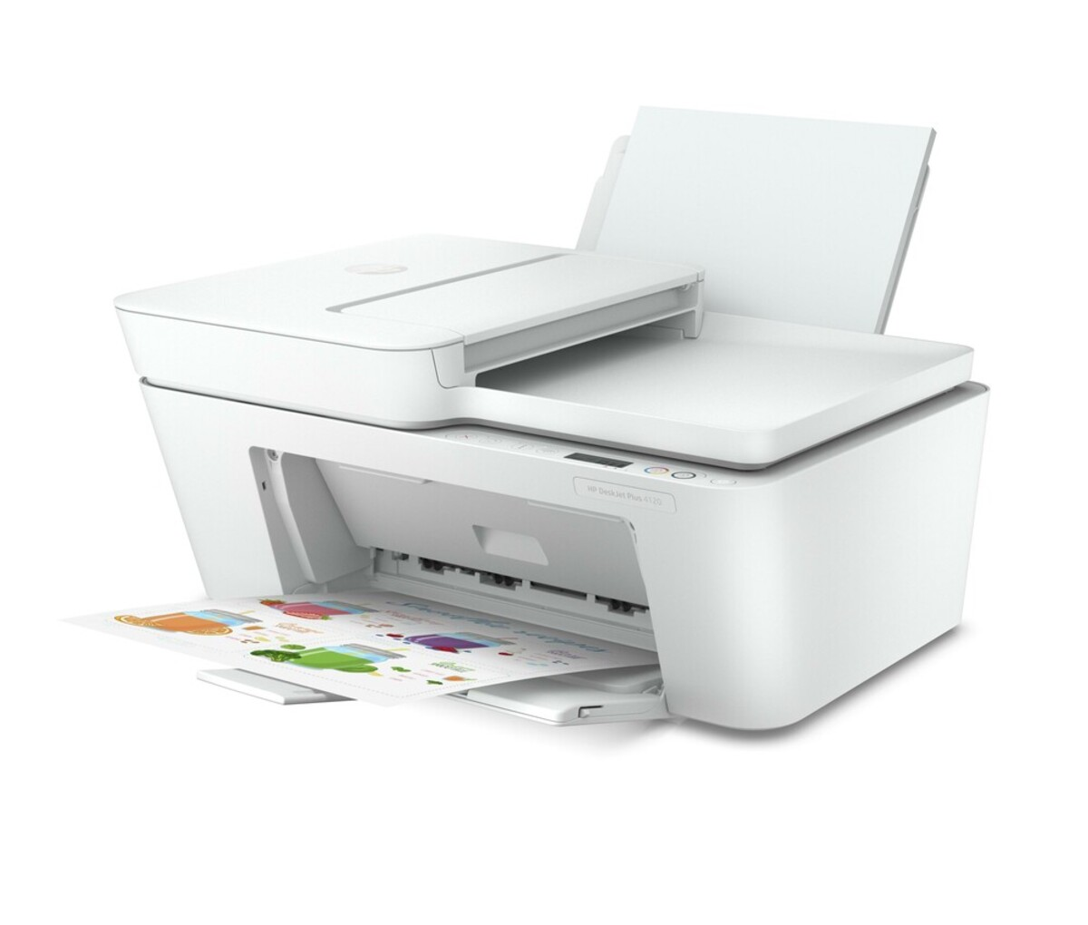 Bild 3 von DeskJet Plus 4120 weiß Multifunktionsdrucker