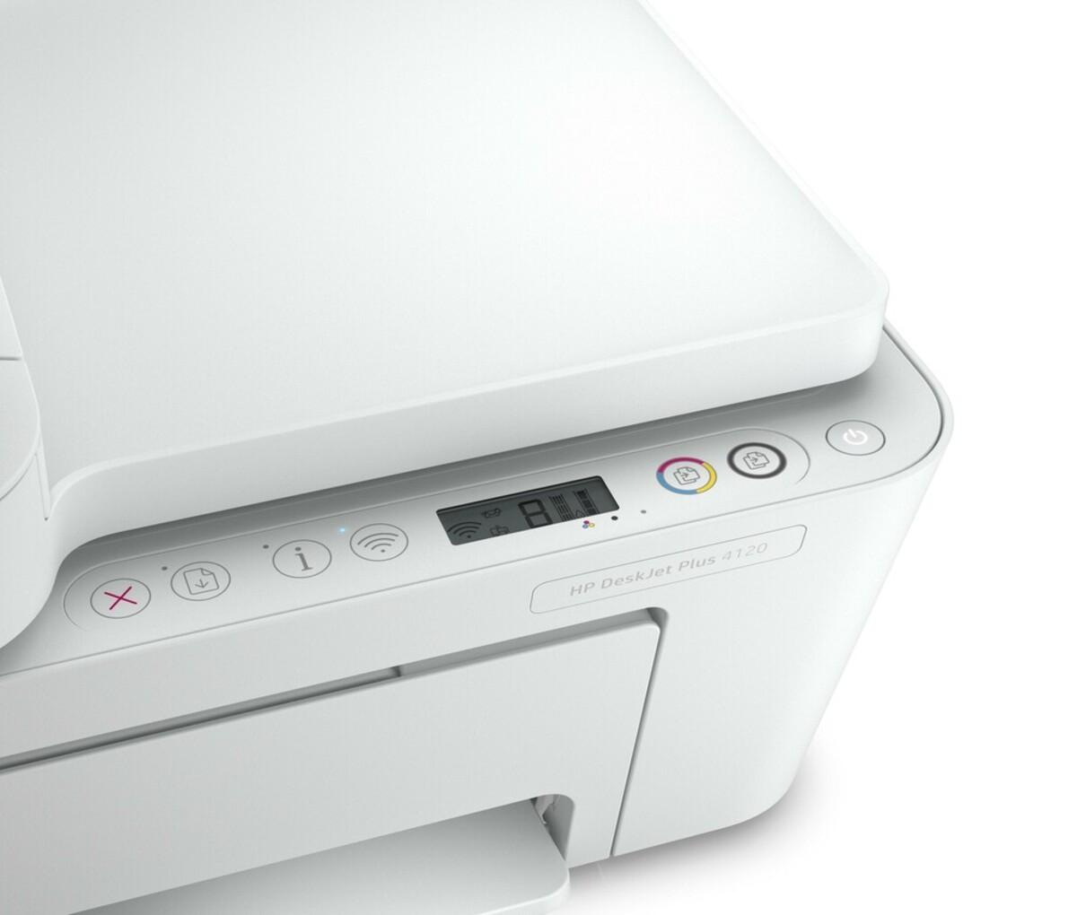 Bild 5 von DeskJet Plus 4120 weiß Multifunktionsdrucker