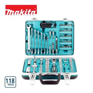 SteckschlüsselWerkzeugset das ideale Werkzeugset für Haus, Werkstatt und Garage, Chrom-Vanadium-Stahl, 118-teilig
