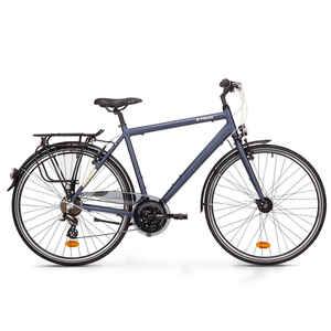 Trekkingrad 28 Zoll Hoprider 100 HF Herren blau