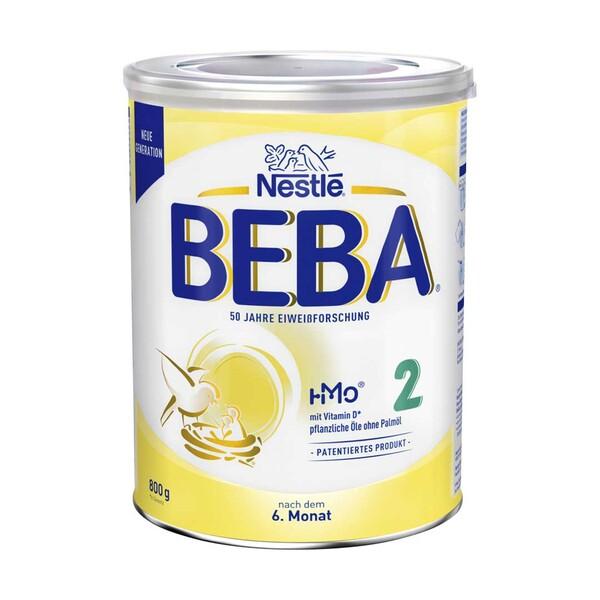Beba Folgemilch 2 oder 3, jede 800-g-Dose,