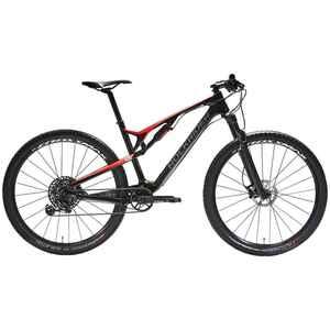 Mountainbike XC 900 S 29 Zoll vollgefedert Carbon rot/schwarz